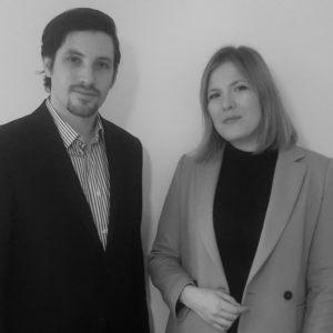 Sébastien Lachaussée et Elisa Martin-Winkel